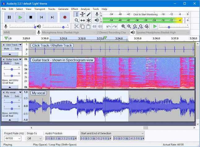 Audacity DJ Software